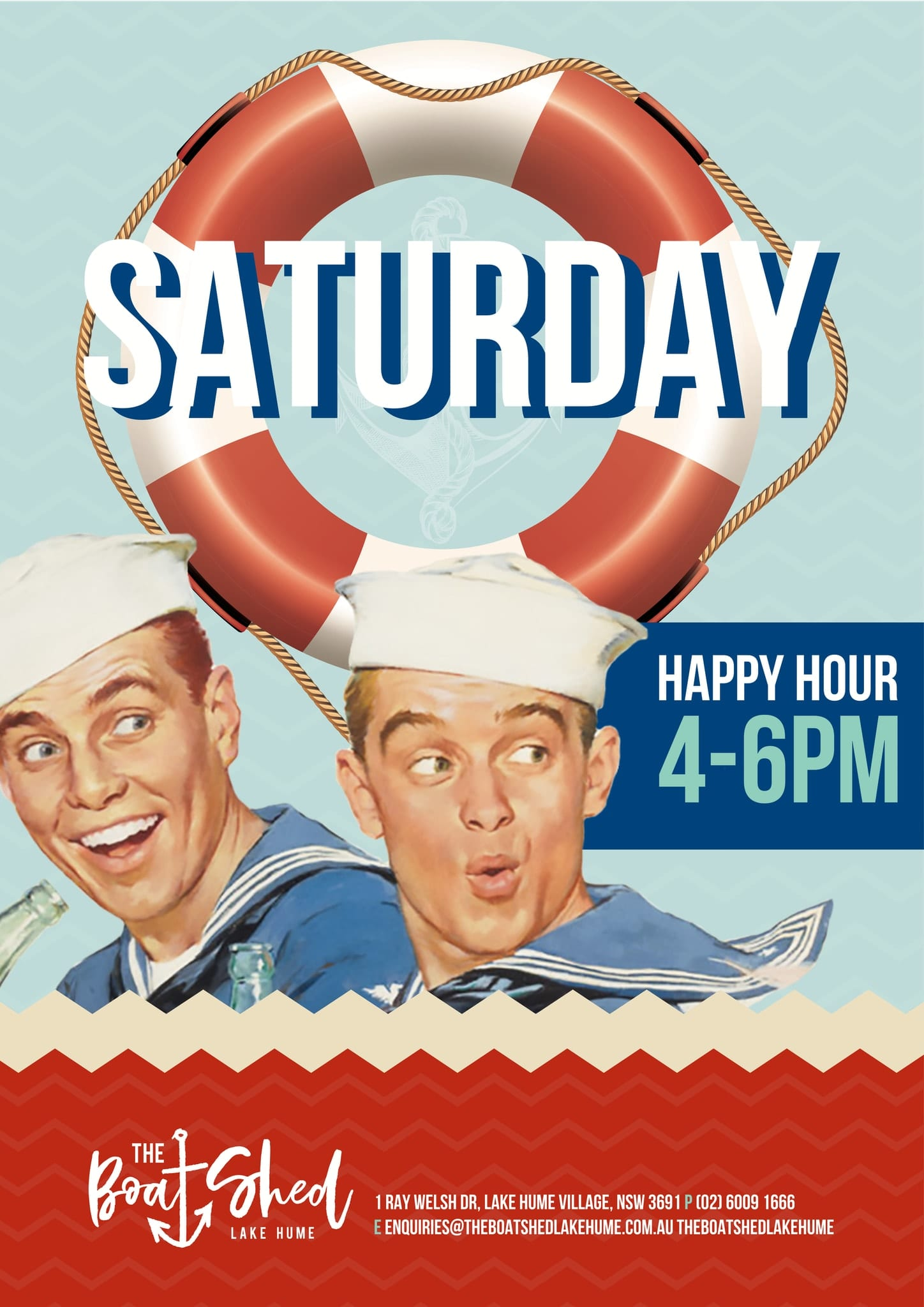 Saturday Happy Hour