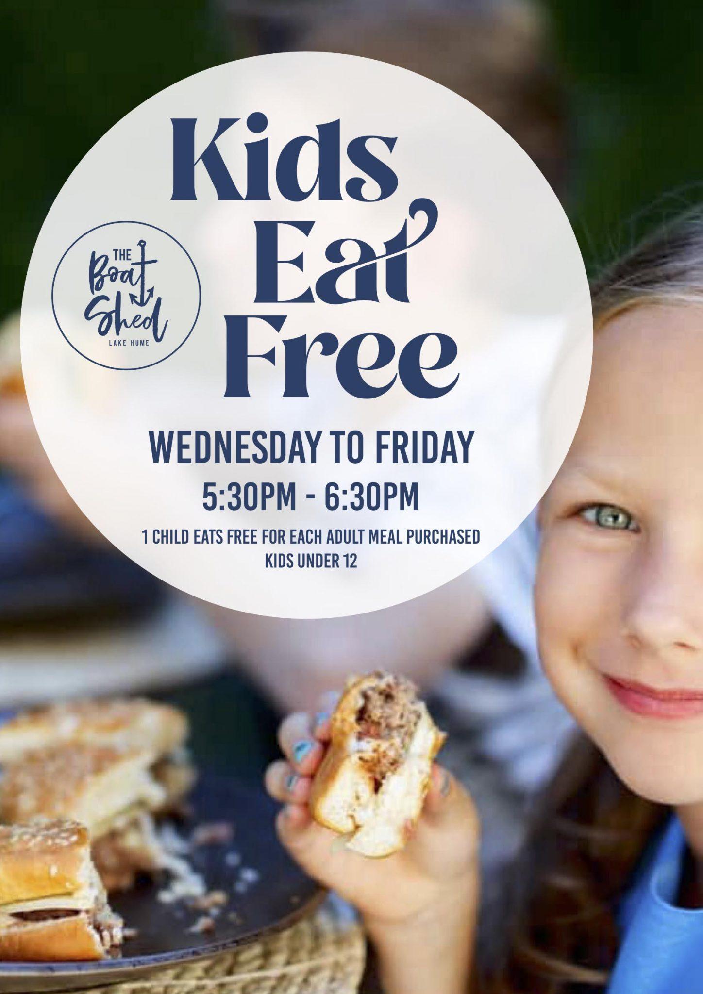 Kids Eat Free poster